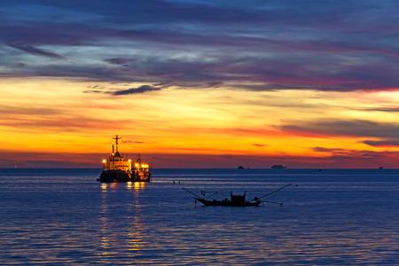 dawning: Dawning beeautiful on  Pha Ra Don Phap beach at Chumphon Province, Thailand