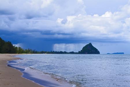 hua: The beach Bang Boet Beach, Thailand