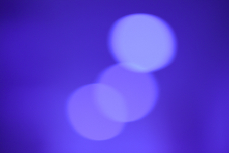 aura sun: abstract blurred background, blue tone.
