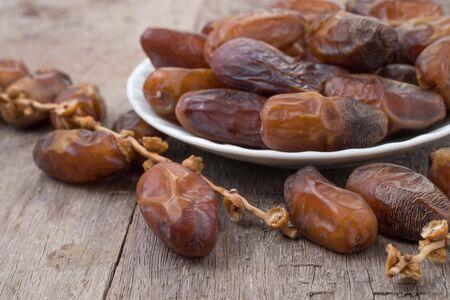 date palm fruits or kurma, ramadan kareem