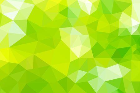 triángulos abstractos degradado verde para el fondo. estilo geométrico Foto de archivo