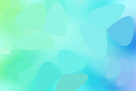Green and blue soft pastel color gradient abstract free style. Graphic background. abstract free style background.