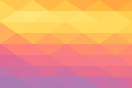 orange, ping and purple color gradient abstract geometric triangular polygon style. Graphic background. abstract polygon background.