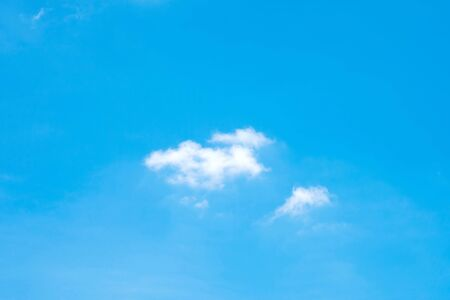 Beautiful blue sky with clouds for background. Beautiful blue sky. Stok Fotoğraf