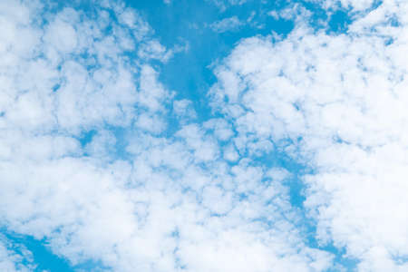Beautiful blue sky clouds for background. Imagens