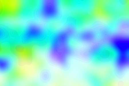 Abstract blur light gradient blue and green soft pastel color wallpaper background. Imagens