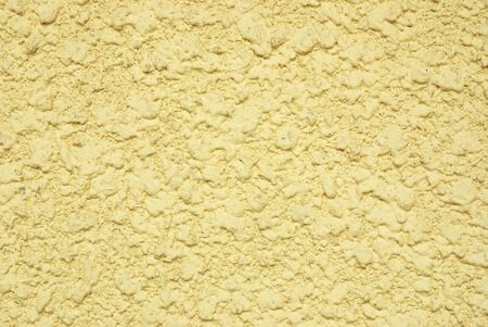 wall concrete yellow