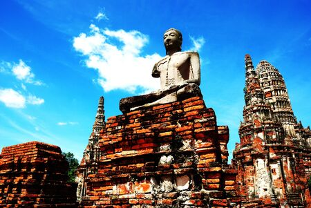 Wat Chaiwatthanaram Ayutthaya city of Thailand