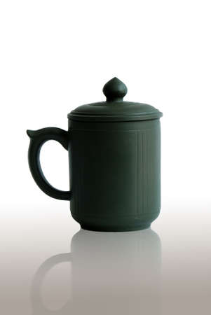 green tea cup  Stock Photo - 8188285