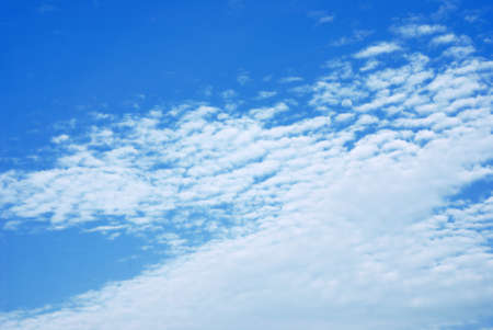 Blue sky with clouds Stock Photo - 9052792