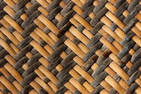 Basket Weave Wood Stock Photo - 9138295