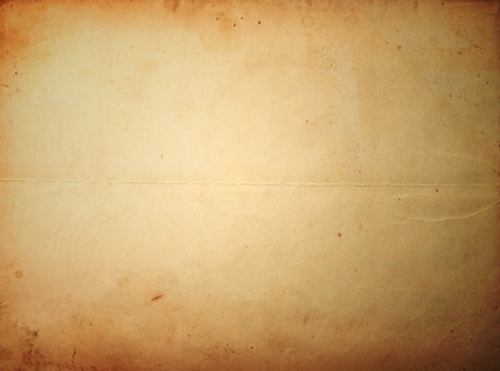 Old brown paper sheet Stock Photo