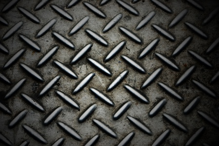 diamondplate: Sfondo della piastra di metallo diamante in colore argento