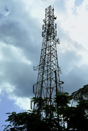 Communications Tower ,Mobile Base Station.