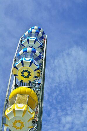 Colorful Ferris Wheel  in Thailand photo