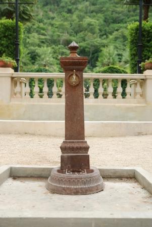 water tap in the garden photo