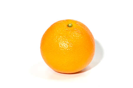 orange isolated on a white background Stock Photo - 16185581