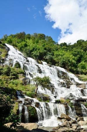 Mea Ya Waterfall, Doi inthanon , Chiangmai,Waterfall of Thailand  Stock Photo - 16899122