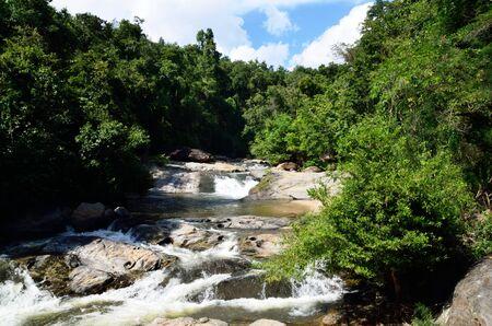 Mae Klang waterfall, Doi Inthanon national park, Chiang Mai in Thailand Stock Photo - 16899124
