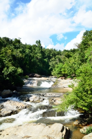 Mae Klang waterfall, Doi Inthanon national park, Chiang Mai in Thailand  Stock Photo - 16899119