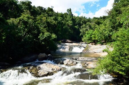 Mae Klang waterfall, Doi Inthanon national park, Chiang Mai in Thailand Stock Photo - 16899121