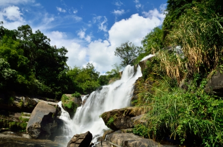 Mae Klang waterfall, Doi Inthanon national park, Chiang Mai in Thailand