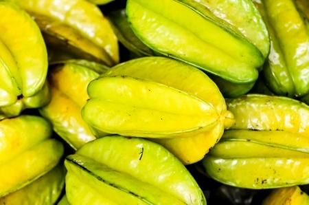 Carambola Fruits at fruit market Stock Photo - 20438643