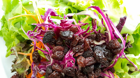 mixed salad fruits and vegetables