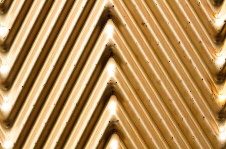 striping: golden background
