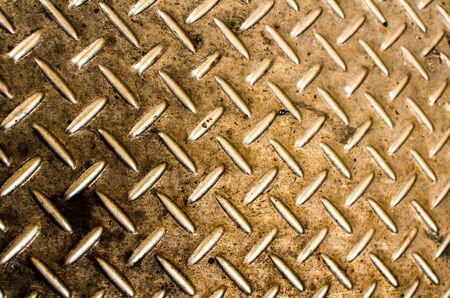 Texture golden background of metal plate