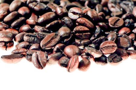 arabica coffee bean Stock Photo