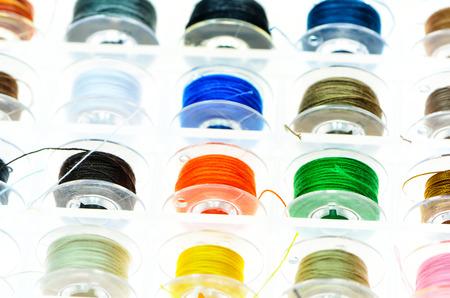 Bobbins Spool Plastic Case, Needlework Tool