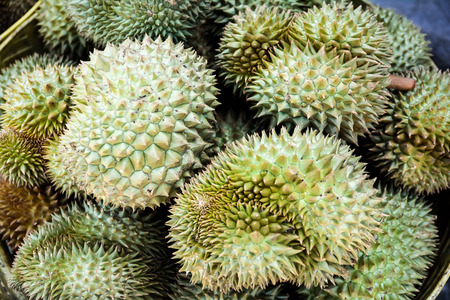 Durian King of Fruits Stock Photo