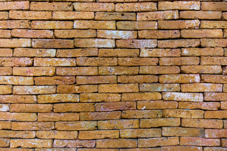Old brick wall texture pattern Overlapping background - Image Stock Photo