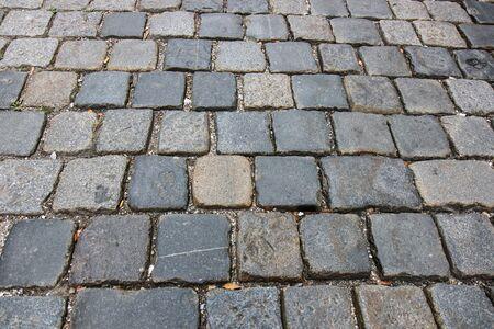 Stone walkway texture grunge style background