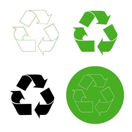 Recycle Symbols Stock Photo