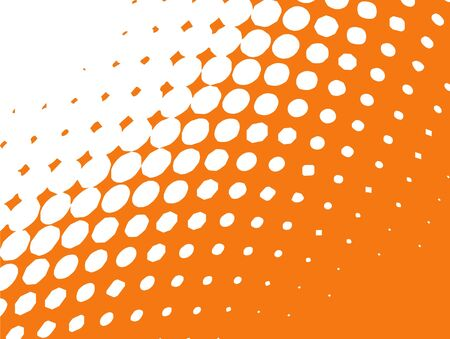 Halftone pattern, dots Stock Photo