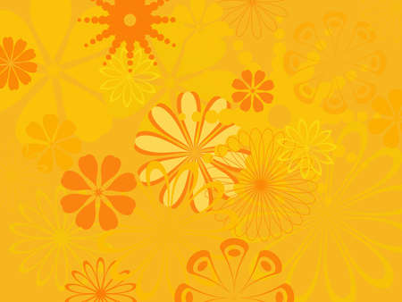 variegated: colorful abstract flower pattern