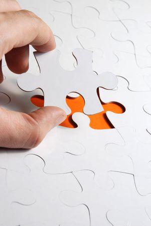 missing piece: resumen de antecedentes del rompecabezas con una pieza faltante