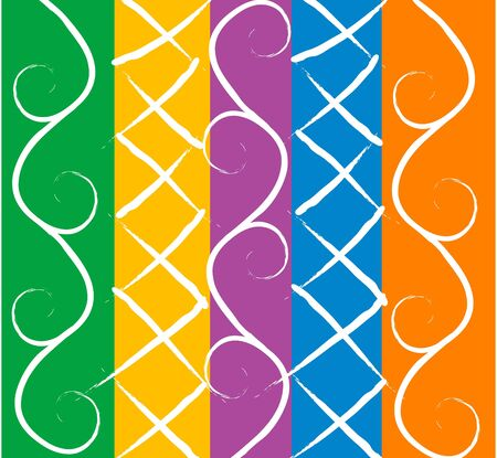 colorful geometrical abstract background Stock Photo - 4394483