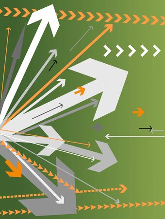 background with lots of arrows vector illustration illustration
