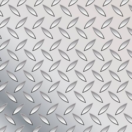 vector illustration of the metal plate Stock Illustration - 4394595