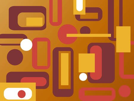colorful retro background vector illustration Stock Illustration - 4394398
