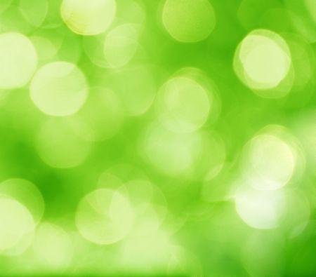 sfondo luci: astratto sfondo verde con cerchi offuscate