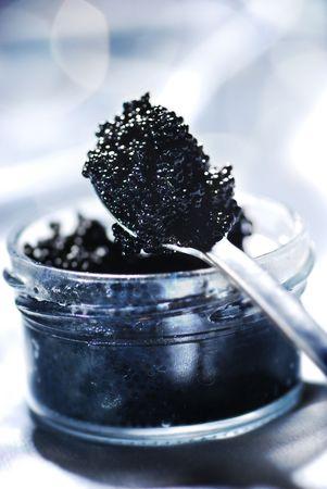 Black caviar - symbol of wealth