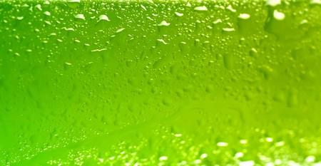 wet beer bottle macro abstract  photo