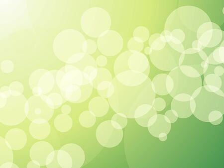 lensflare: glittering lights against green background abstract