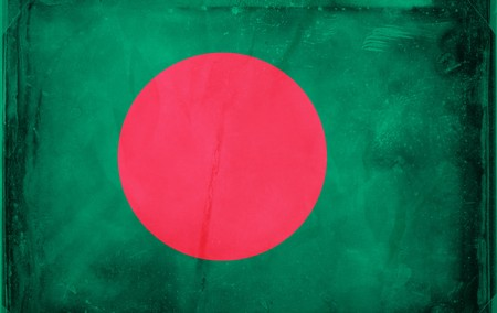 Grunge flag series -  Bangladesh photo
