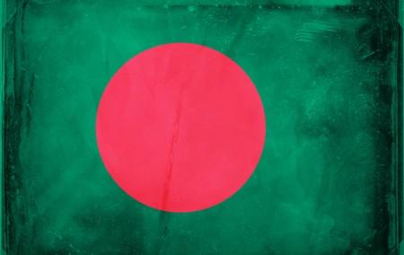 Grunge flag series -  Bangladesh photo