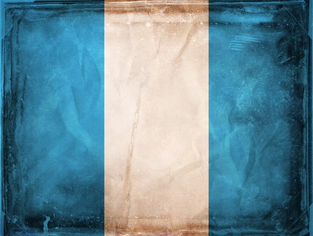 Grunge flag series -  Guatemala photo
